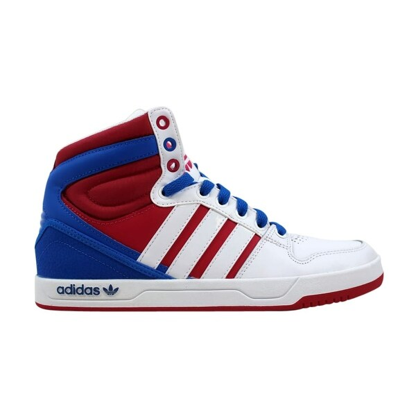 Shop Adidas Women's Court Attitude W WhiteRed Blue Q32914