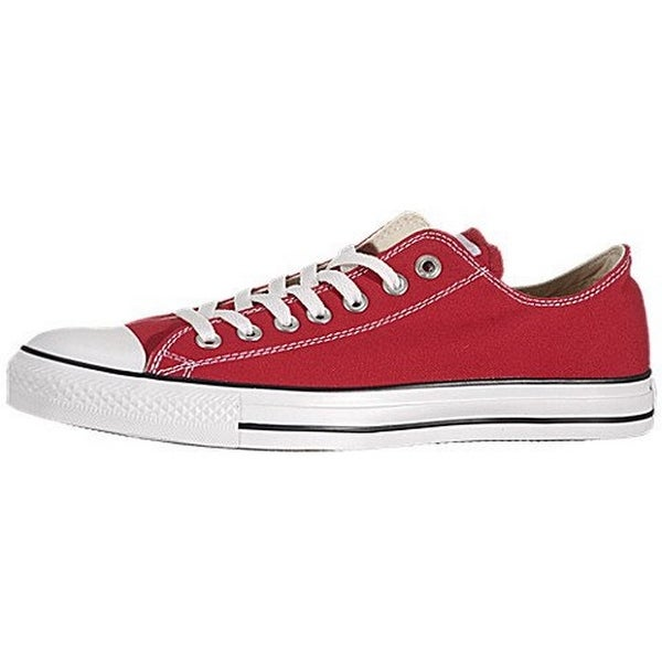 dcd98a6b705 Shop Converse Chuck Taylor All Star Lo Top Red Canvas Men s 7.5 ...