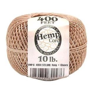 Darice Hemp Cord Ball Natural 10# 400ft
