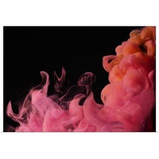 """Red Smoke"" Poster Print"