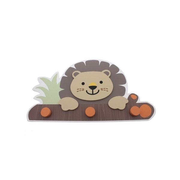 "Babies""R""Us Safari Lion Wall Decor Wooden Baby Boy"