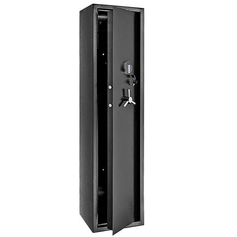 5 Rifles Electronic Depository Security Cabinet Gun Cabinet Digital Security Safe Box