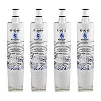 Replacement Water Filter For Whirlpool 4396508 Refrigerator Water Filter - by Refresh (4 Pack)