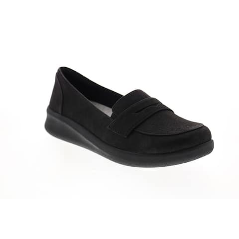 Clarks Sillian 2.0 Hope Black Womens Loafer Flats