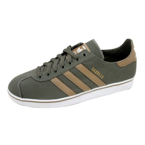 Adidas Men's Gazelle II 2 Canvas Earth Green/Earth Khaki Q23157 Size 8