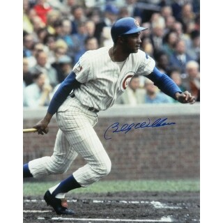 Billy Williams Chicago Cubs Swinging Action 16x20 Photo