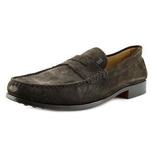 Tod's Mocassino Nuovo Citta' Round Toe Leather Loafer