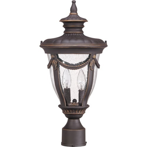 Nuvo Lighting 60/2049 Two Light Up Lighting Outdoor Post Light from the Philippe Collection