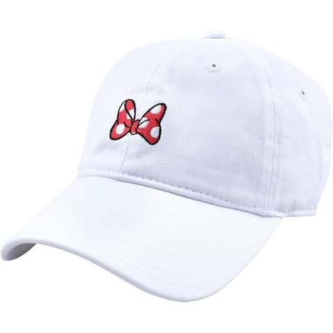 Disney Minnie Mouse Bow Dad Hat