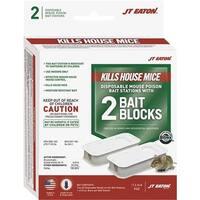 JT EATON 2Pk Mouse Bait Station 932 Unit: EACH