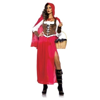 Women's Woodland Red Riding Hood Costume