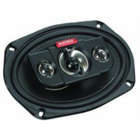 6 x 9 in. 4-Way Coaxial Car Speakers, 450W