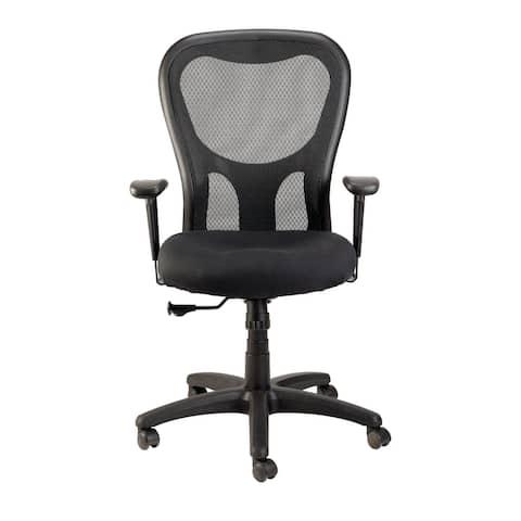 Eurotech Seating Apollo Ergonomic Task Chair, Black, High Back