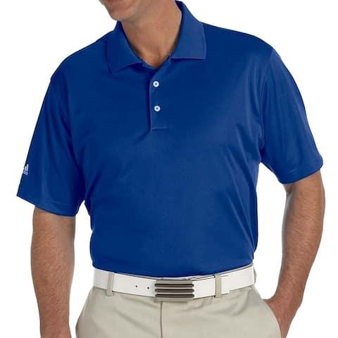 Adidas Golf Men's Climalite Jacquard Solid Polo Shirt