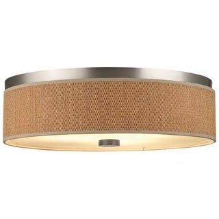 "Forecast Lighting F615636NV 3 Light 20.5"" Wide Flush Mount Ceiling Fixture from the Cassandra Collection"