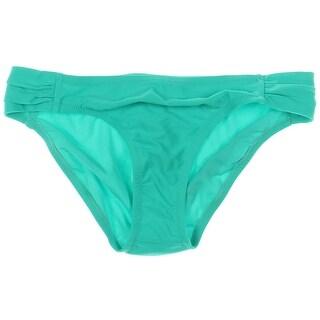 Jessica Simpson Womens Gathered Hipster Swim Bottom Separates