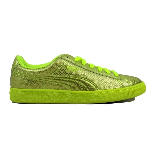 Shop Puma Women s Clyde Deconstructed Lo Misted Yellow 352943 03 ... c6c1989c9