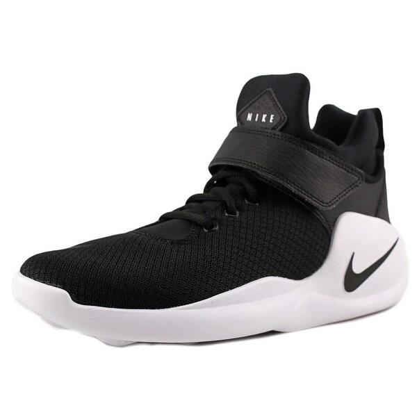 Nike Kwazi Youth Round Toe Synthetic Black Sneakers