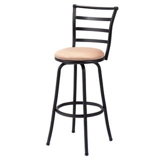 Costway Swivel Bar Stool Counter Height Pub Chair