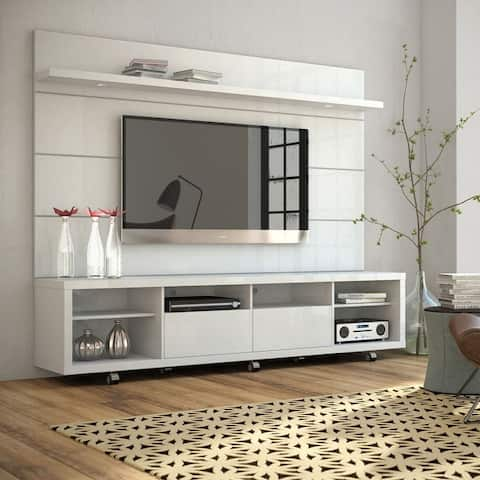 Cabrini Mid-Century Modern Wood TV Stand