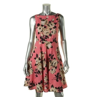 Betsey Johnson Womens Floral Print Sleeveless Sundress - 4