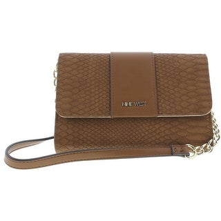 Nine West Womens Table Treasures Aleksei Shoulder Handbag Faux Leather - small
