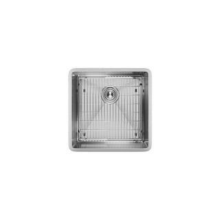 "Elkay ECTRU17179TC  Crosstown 18-1/2"" Undermount Single Basin Stainless Steel Kitchen Sink with Sound Dampening"