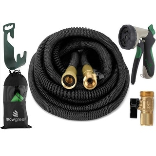 {2017}Heavy Duty expandable Garden Hose Set 25, 50, 75, 100, Feet,