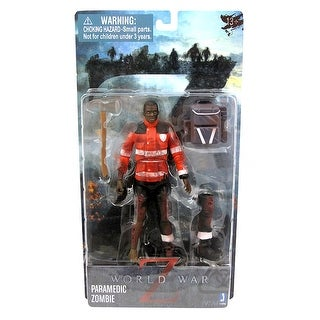 "World War Z 6"" Action Figure: Paramedic Zombie - multi"