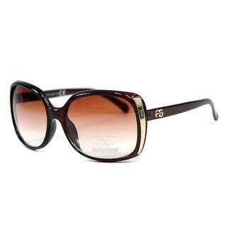 e96fbe34c5 Anais Gvani Women s Classic Square Frame Sunglasses with Logo Accent by  Dasein. Quick View