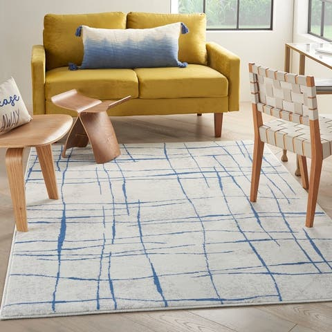 Nourison Whimsicle Modern Linear Abstract Area Rug