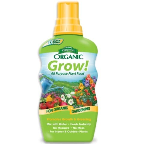 Espoma GR24 Organic Grow All Purpose Liquid Plant Food, 24 oz