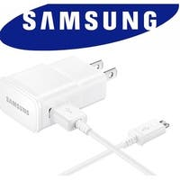 Samsung Charger 2 Amp White for Android Phones with Micro USB Cable