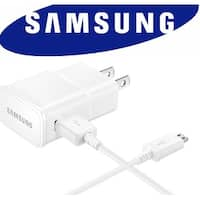 Samsung Wall Charger Single USB Adapter 5V 2A Samsung Wall Charger - WHITE