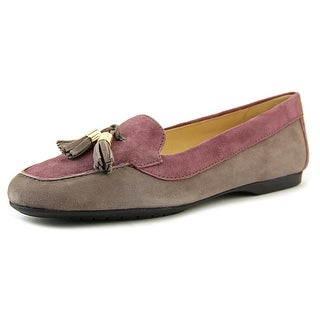 Amalfi By Rangoni Ada Round Toe Suede Loafer