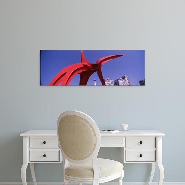 Easy Art Prints Panoramic Image 'Olympic Sculpture Park, Seattle Art Museum, Seattle, Washington' Canvas Art