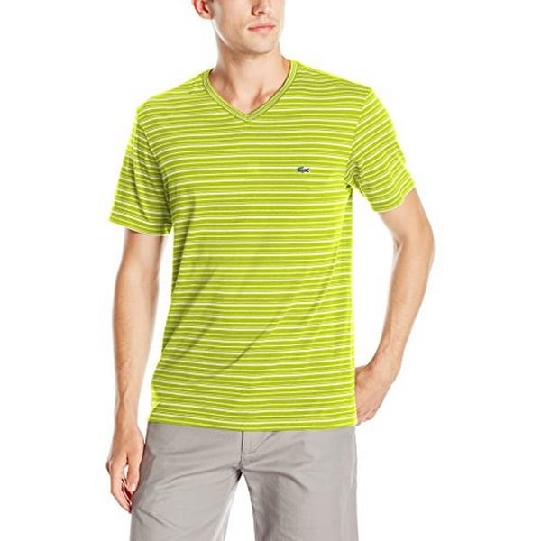 2e1148202 Shop Lacoste Mens Tee-Shirt   Turtle Neck - Free Shipping On Orders Over   45 - Overstock.com - 17870030