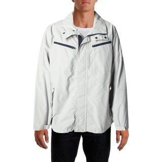 Nautica Mens Solid Long Sleeves Basic Jacket - XL