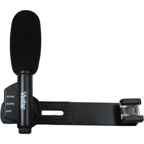 Vivitar Mini Zoom Microphone with 6 feet Extension Cable, Normal & Zoom Mode