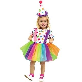 Fun World Big Top Fun Toddler Costume - Rainbow