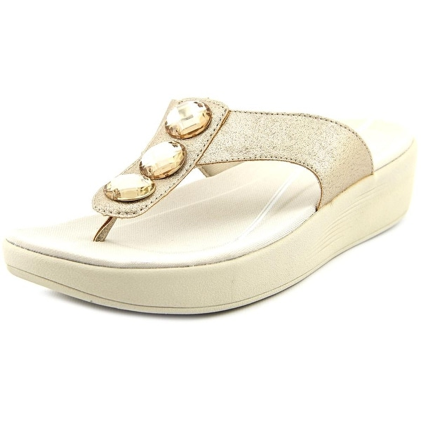 Easy Spirit e360 Bejewel Women Open Toe Synthetic Flip Flop Sandal