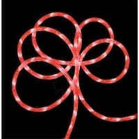 18 ft. Strawberry Pink Indoor - Outdoor Christmas Rope Lights