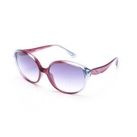 Moschino Women's  Oversized Round Frame Sunglasses Purple - Small