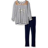 Juicy Couture Girls 4-6X Stripe Tunic Legging Set