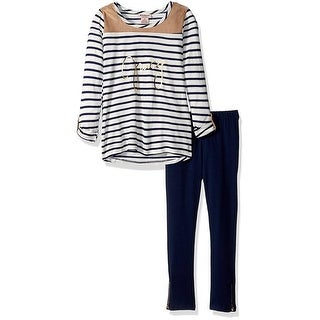 Juicy Couture Girls 4-6X Stripe Tunic Legging Set