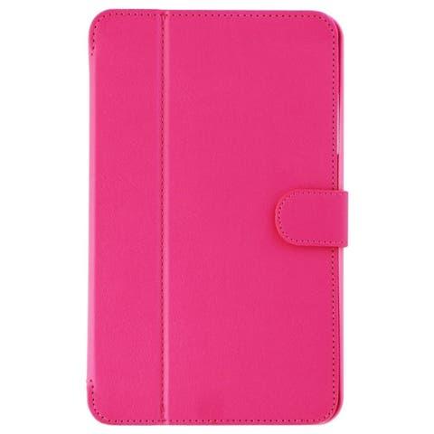 Verizon Folio Hardshell Tablet Case for Samsung Galaxy Tab E (8.0) - Pink