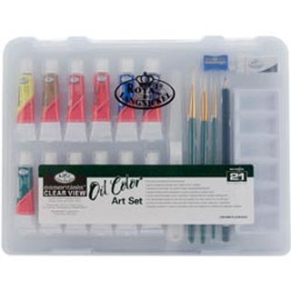 Oii Painting - Essentials Clear View Art Set