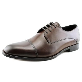 Kenneth Cole NY Sound T-rack Men Round Toe Leather Brown Oxford