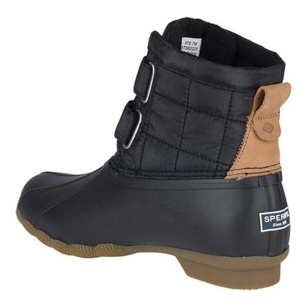 Saltwater Jetty Snow Boot Black