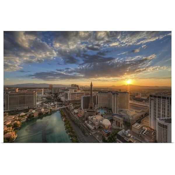 """Sunrise, Las Vegas, Nevada"" Poster Print"